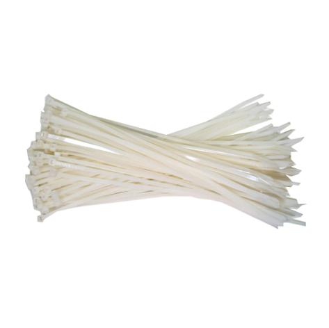 Witte kabelbinders