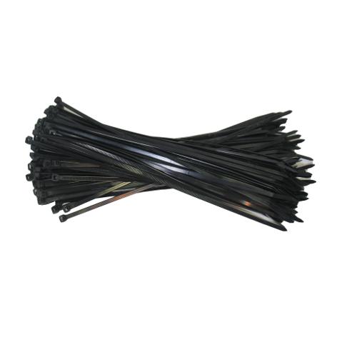 Zwarte kabelbinders