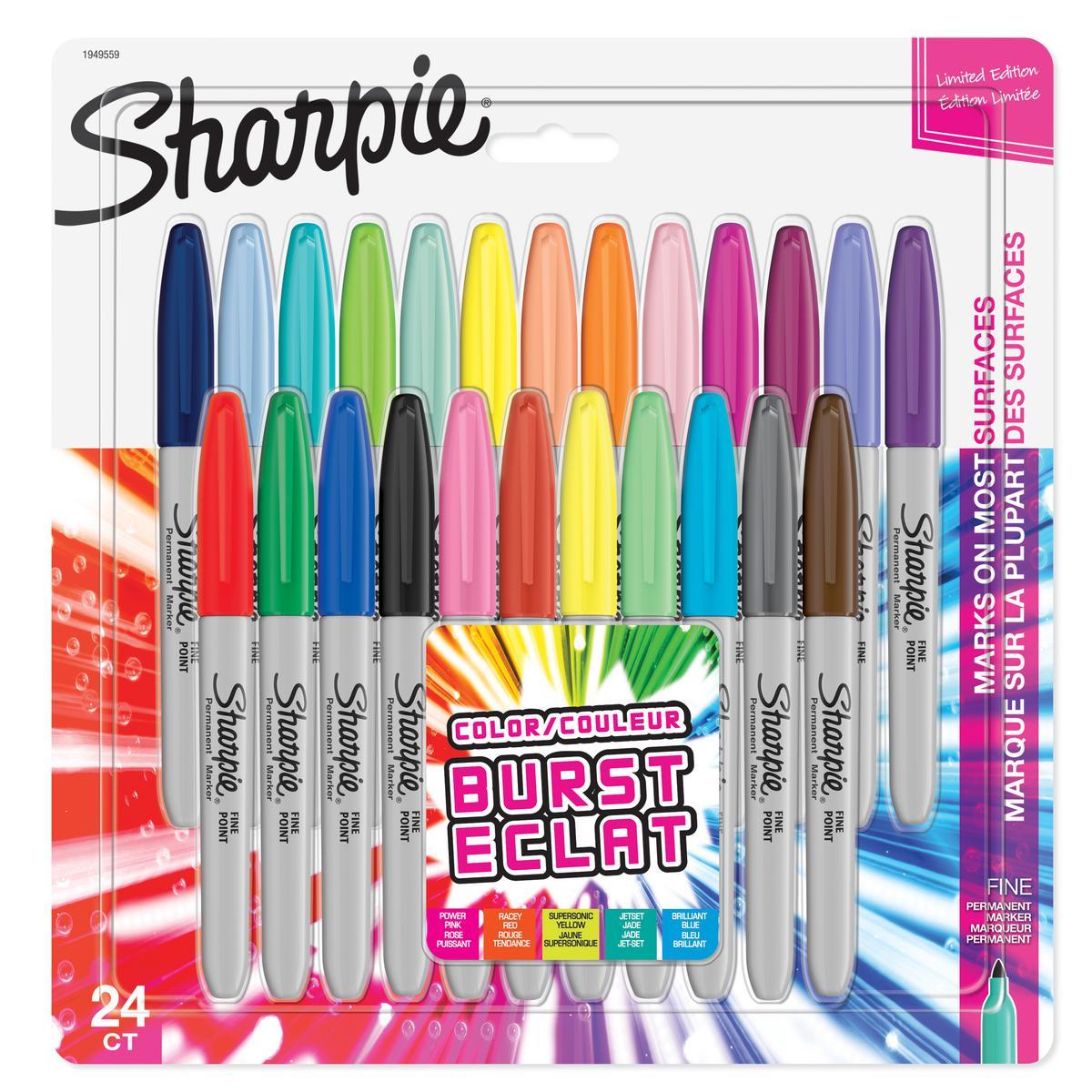 Sharpie Fine Point markeerstiften 24 stuks - Color Burst set