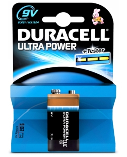 Duracell Ultra Power 9V MN1604 batterij