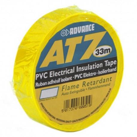 Advance -  AT7  - Isolatietape - 19mm x 33m geel