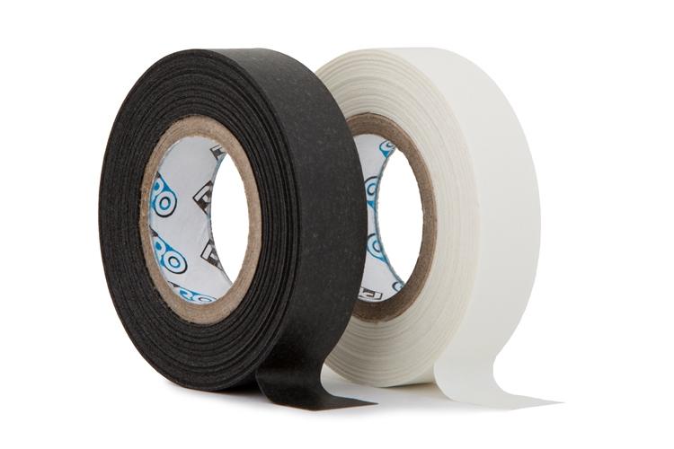 Pro paper tape mini rol 12mm x 9.2m mix zwart - wit