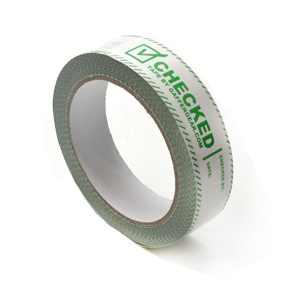 Gaffergear PVC Checked tape 25mm x 66m