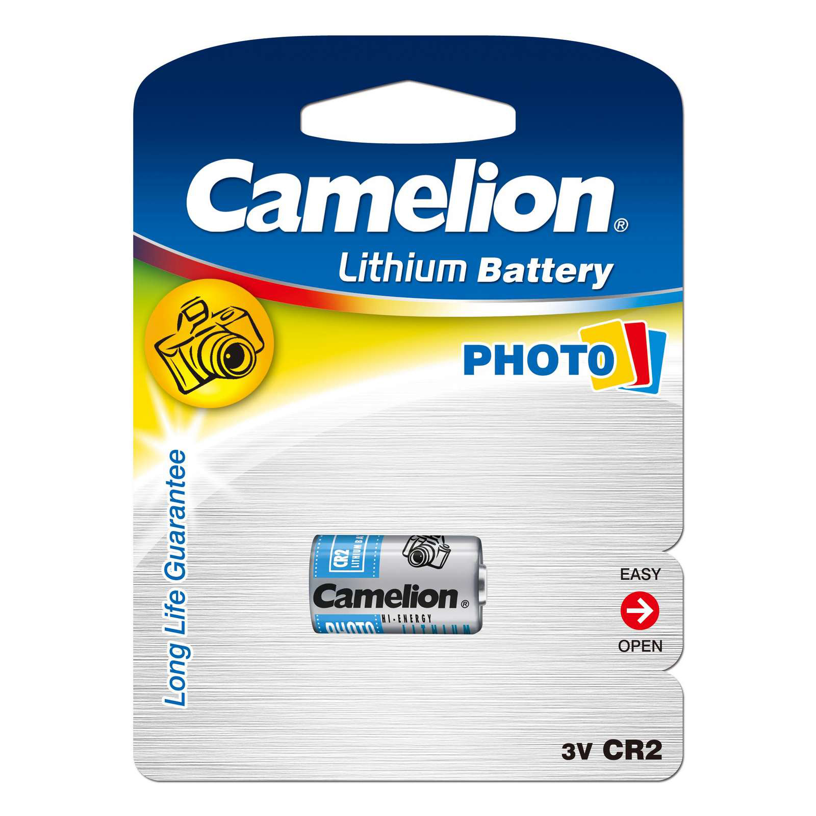 Camelion Lithium CR2 3V blister 1