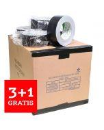 Nichiban tape 50mm x 25m zwart - doos 30 rollen