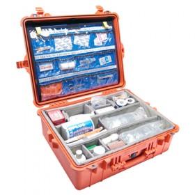 Peli Case 1600 Oranje EMS uitvoering