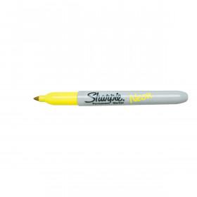 Sharpie permanent marker - Neon Geel set van 12 stuks