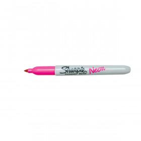Sharpie permanent marker - Neon Roze set van 12 stuks