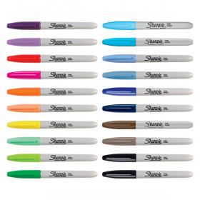 Sharpie Fine Point markeerstiften 28 stuks - Vis kleurenset