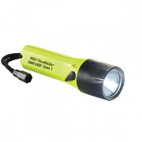 Peli Stealthlite 2460Z1 LED Zone 1 Oplaadbare Zaklamp Geel