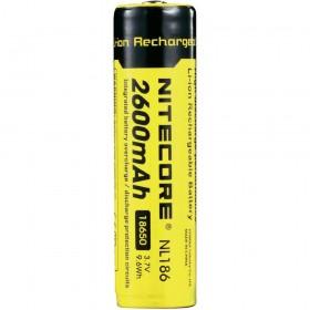 Nitecore 18650 oplaadbare batterij 2600mAh