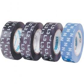 Advance AT4000 L1, L2, L3, N / AT7 groen / geel - PVC tape 15mm x 10m - voordeel doos - 60 rollen