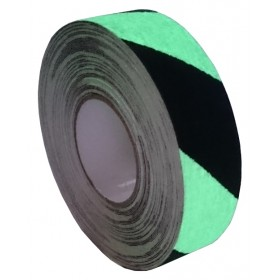 Antislip tape 50mm. x 18,3m Markering Fotoluminescente (glow in the dark)
