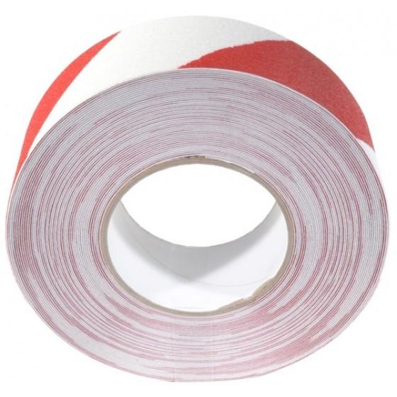 Antislip tape 100mm x 18,3m Rood / Wit