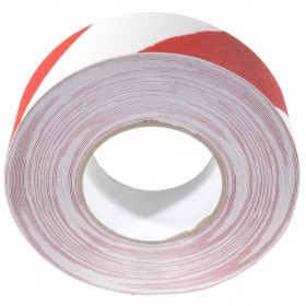 Antislip tape 50mm x 18,3m Rood / Wit