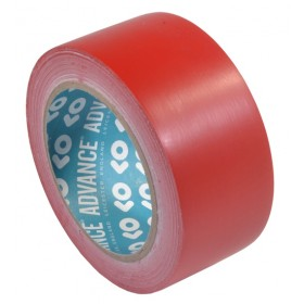 Advance AT8 PVC Vloermarkeringstape 50mm x 33m Rood - 2 rollen