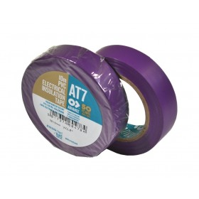 Advance AT7 PVC tape 15mm x 10m paars - doos 100 rollen