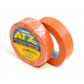 Advance AT7 PVC tape 15mm x 10m oranje - doos 100 rollen