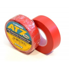 Advance AT7 PVC tape 15mm x 10m rood - doos 100 rollen
