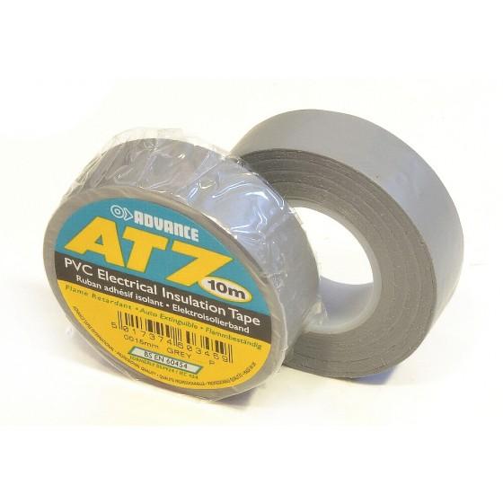 Advance AT7 PVC tape 15mm x 10m grijs - doos 100 rollen