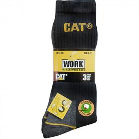 Cat Workwear sokken - maat: 41-45 - 15 paar