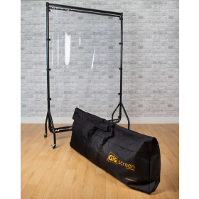 Dirty Rigger verrijdbaar spatscherm - GIG Screen + Tourbag