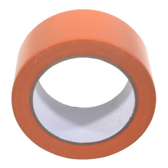 Vloermarkeringstape 50mm x 33m. Oranje