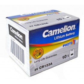 Camelion CR123A 3V Lithium batterij doos 10 stuks