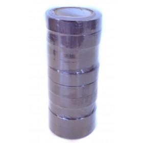 GafferGear PVC Isolatietape 15mm x 10m. Bruin
