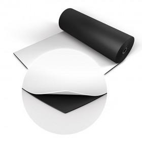 Two Stage dubbelzijdige dansvloer 2m x 20m zwart / wit