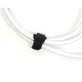 Gaffergear klittenband kabelbinder 13mm x 200mm zwart