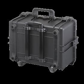 Gaffergear Case 050H zwart trolley uitvoering