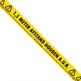 1,5 meter afstand houden - Markeringstape - 50mm x 33m - 36 rollen - Hoge kwaliteit