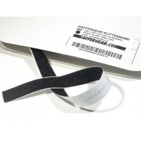 GafferGear klittenband 50mm x 25m Lus zelfklevend zwart