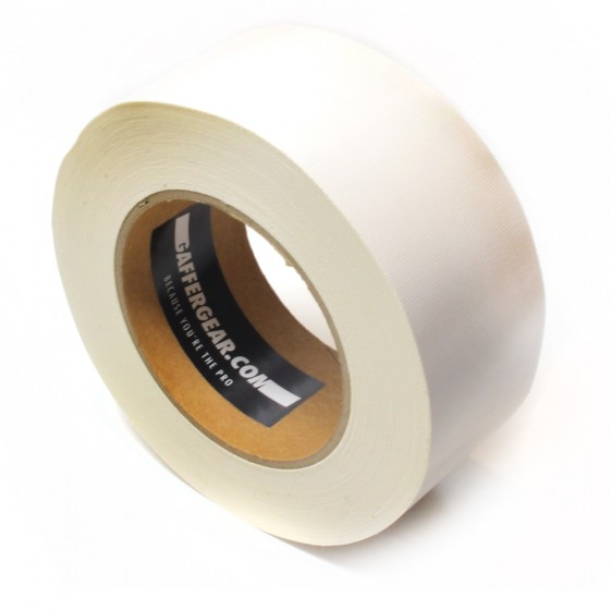 Gaffergear Gaffa tape 50mm x 25m wit - doos 30 rollen