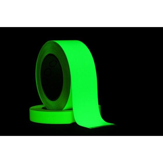 Gaffergear Fotoluminescente glow in the dark tape 50mm x 10m