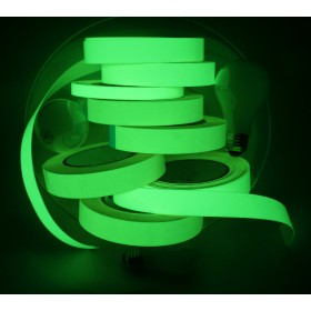 Gaffergear Fotoluminescente glow in the dark tape 25mm x 10m