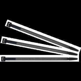 Kabelbinders 2,5 x 200mm. zwart zak 100 stuks