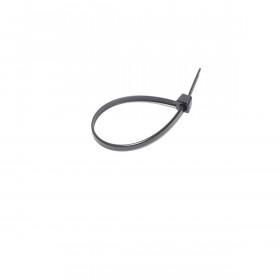 Kabelbinders 3,6 x 140 mm. zwart - zak 100 stuks