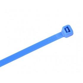 Kabelbinders 2,5 x 100 mm. blauw - zak 100 stuks
