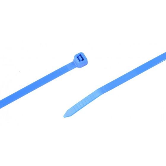Kabelbinders 4,8 x 300 mm. blauw- zak 100 stuks