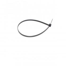 Hersluitbare kabelbinders 7,6 x 300mm zwart zak 100 st.