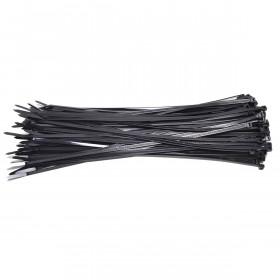 Kabelbinders 7,6 x 368 mm. zwart - zak 100 stuks - 15 zakken