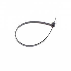 Kabelbinders 7,6 x 300 mm. zwart - zak 100 stuks