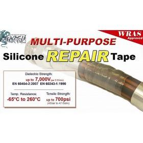 Kraken silicone reparatie tape 25mm x 3,6m. Zwart
