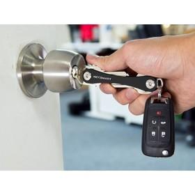 KeySmart Compact Keyholder Black Poly