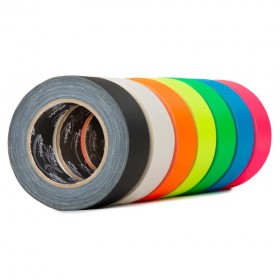 MagTape Ultra Matt Neon gaffa tape 50mm x 25m geel