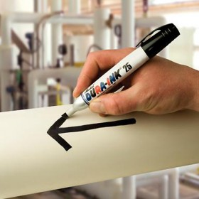 Markal Dura-Ink 25 permanent marker zwart
