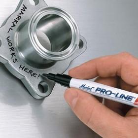 Markal Pro-Line permanent marker Ø2mm zwart