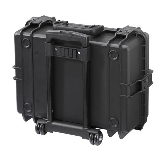 Gaffergear Case 050 zwart trolley uitvoering
